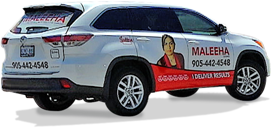 Maleeha Shahid – Car Wrap