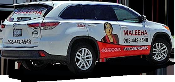 Maleeha Shahid – Car Wrap