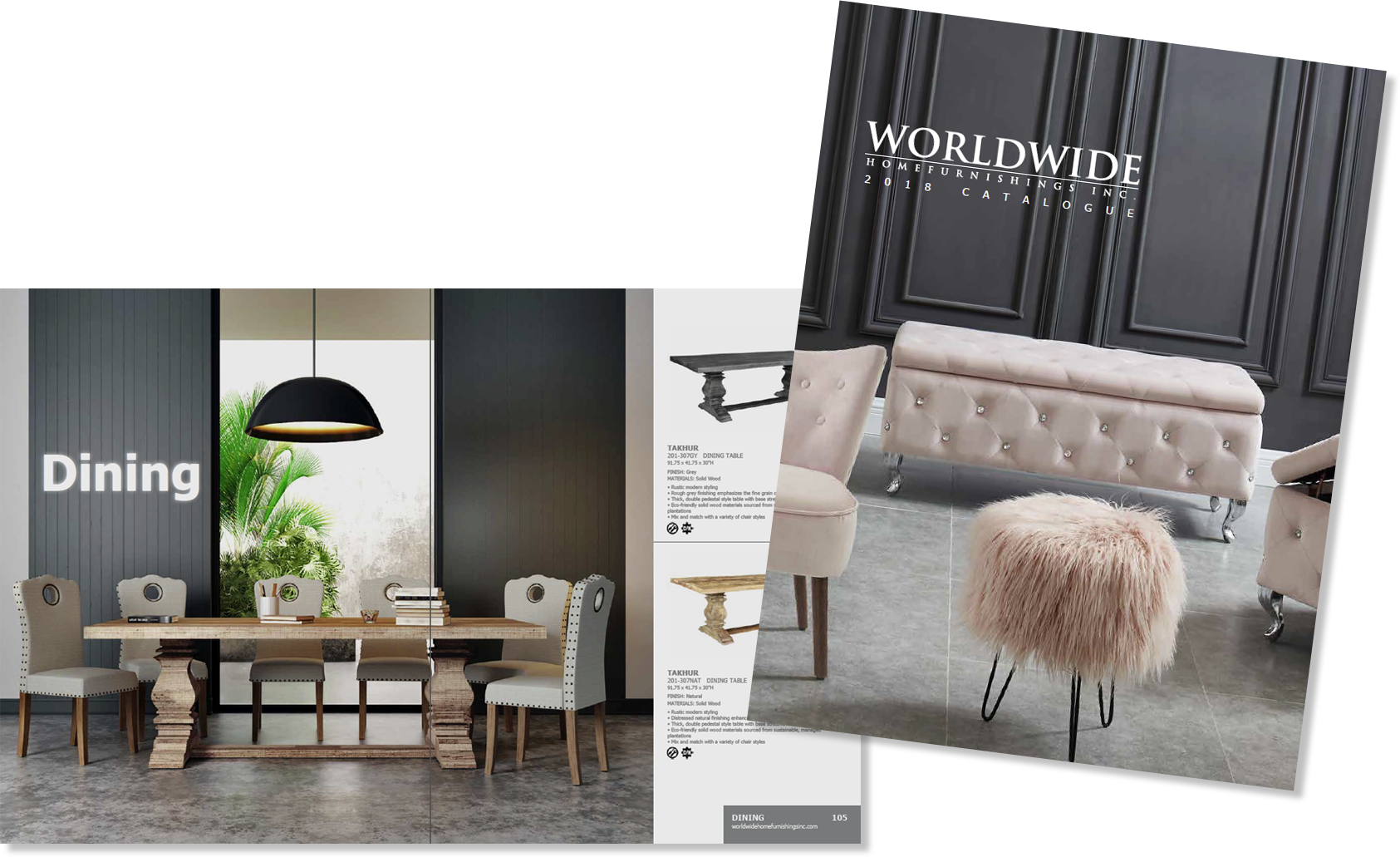 Worldwide Homefurnishings 2018 Product Catalogue